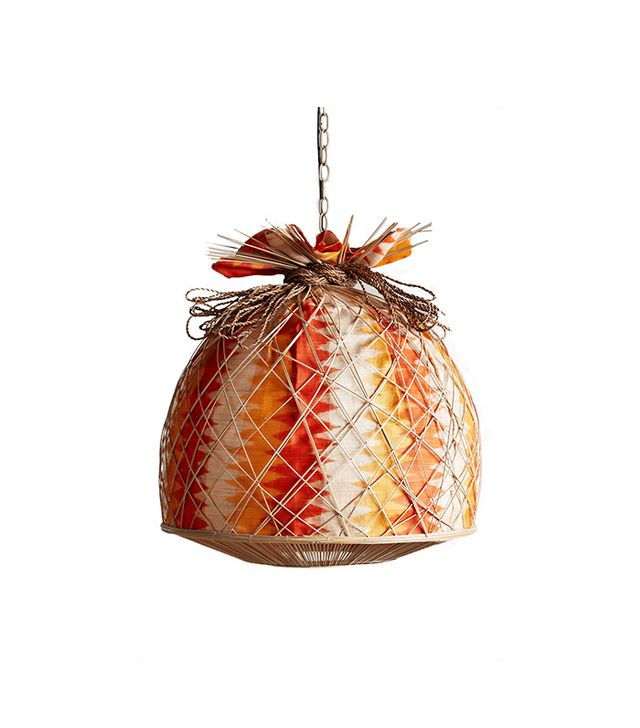 Anthropologie Kenaf Pendant Lamp
