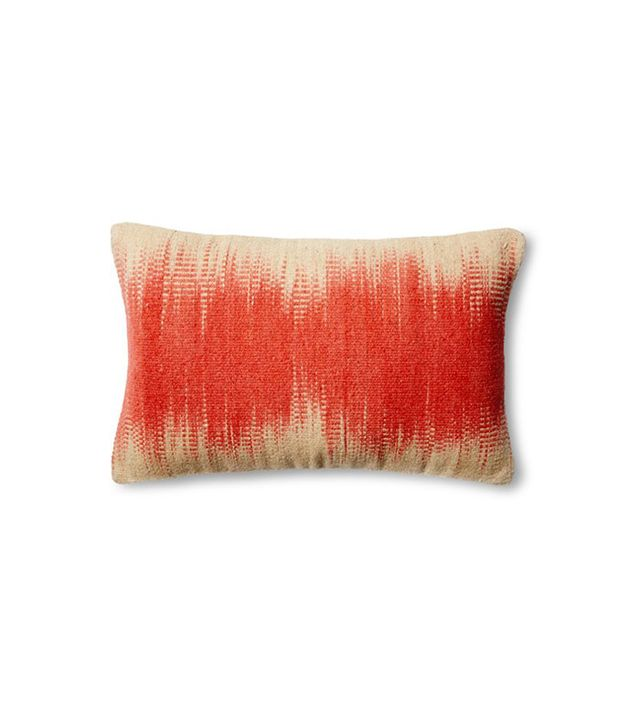 One Kings Lane Dip-Dye Wool-Blend Pillow