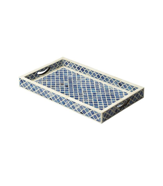 One Kings Lane Bone-Inlay Serving Tray