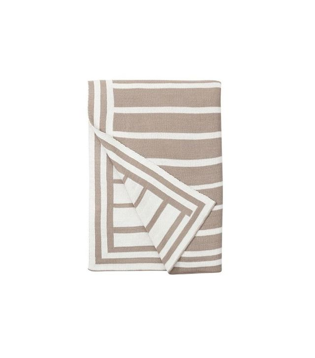 Pottery Barn Striped Throw