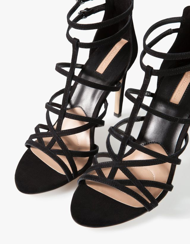 Stradivarius Leather Strap Sandals