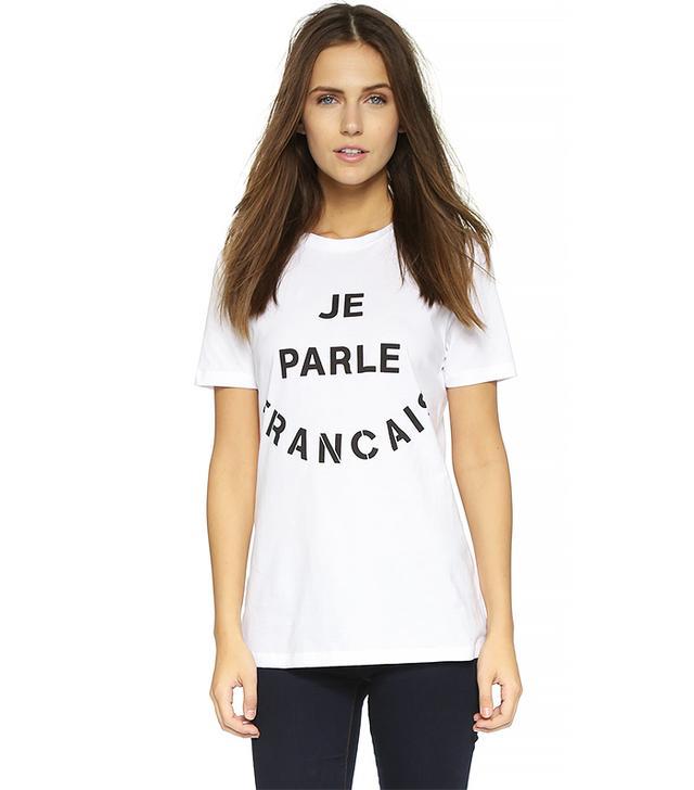 Être Cécile Je Parle Francais T-Shirt