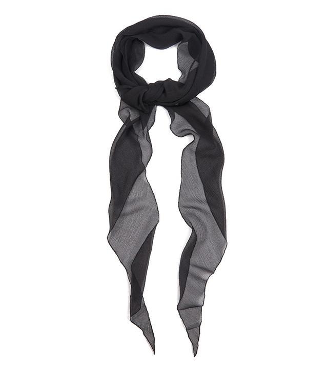 Givenchy Silk-Chiffon Scarf