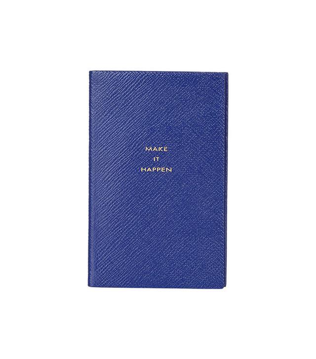 "Smythson Panama ""Make It Happen"" Notebook"