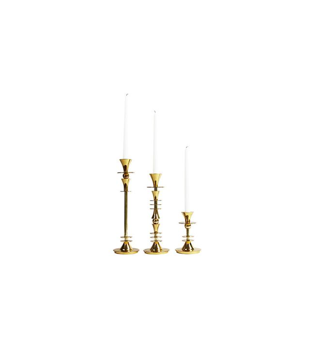 Hawkins New York Emblem Candlesticks
