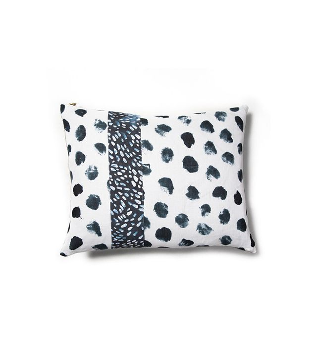 Rebecca Atwood Splotched Dot Patch Pillow