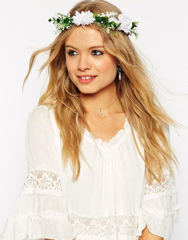 ASOS Garden Flower Hair Garland
