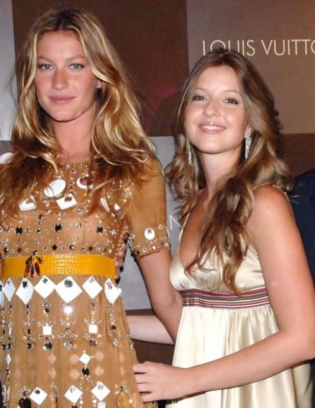 What do you think of Gisele's secretive twin sister? Tell us in the comments below!