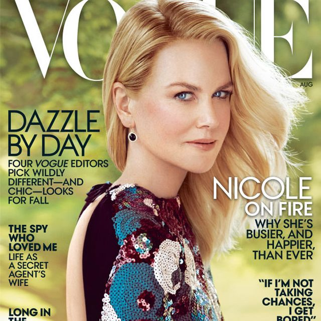 Brilliant: Marc Jacobs Defends Nicole Kidman's Vogue Cover