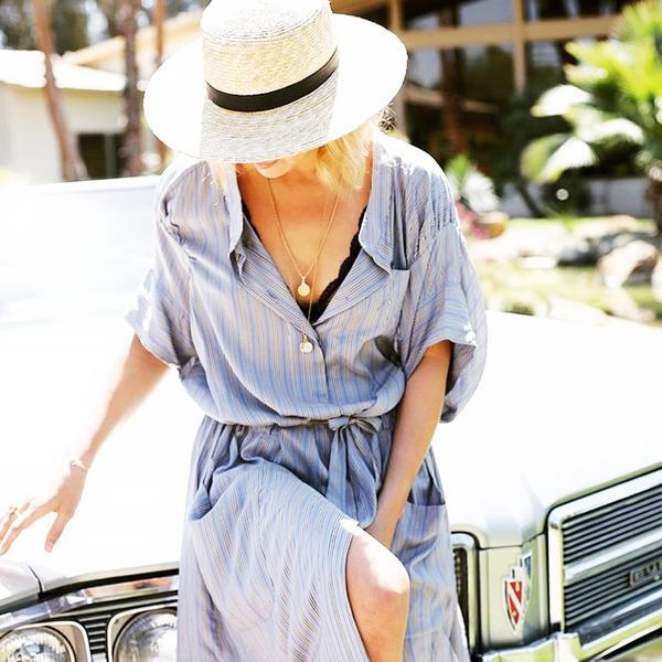 cute bralettes - striped dress