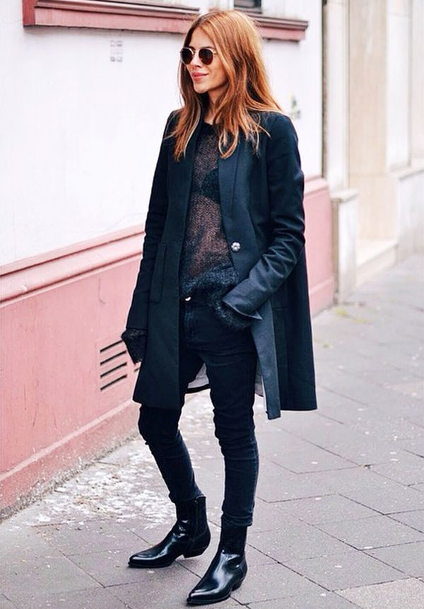 cute bralettes - black outfit