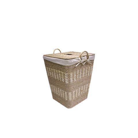 Basket Weave Hamper with Liner