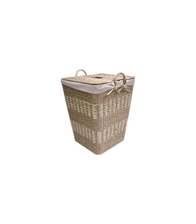 Dot&Bo Basket Weave Hamper with Liner