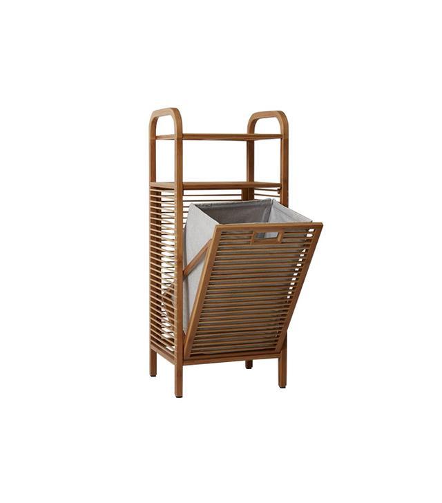 West Elm Bamboo Laundry Hamper