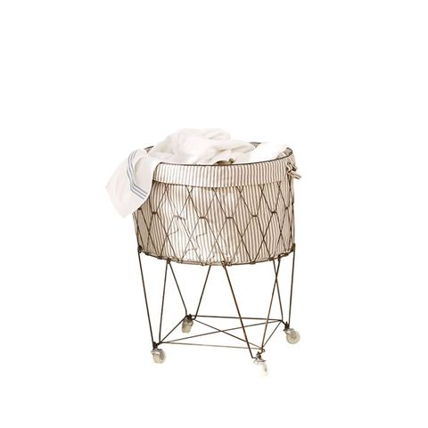 French Wire Hamper and Liner