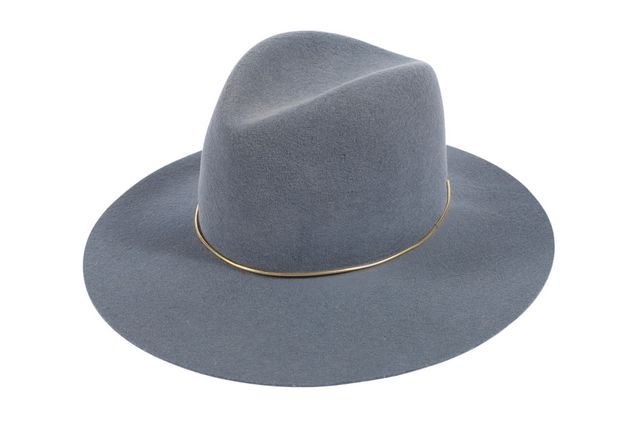 Janessa Leone Lassen Virgin Wool Felt Hat, Bluestone