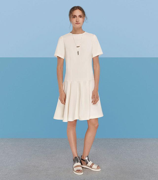Finery London Pembury Asymmetric Peplum Dress