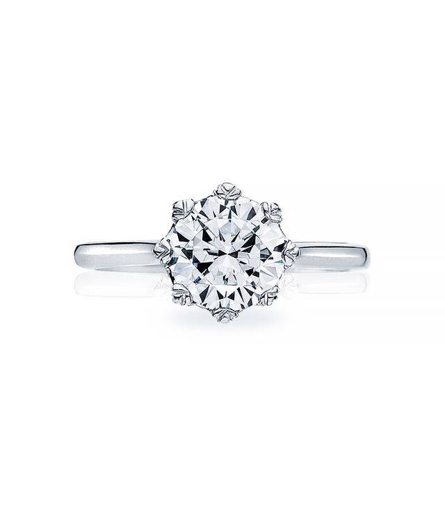 Tacori Solitaire Engagement Ring, White Gold