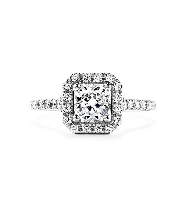 Hearts on Fire Transcend Dream Engagement Ring, White Gold