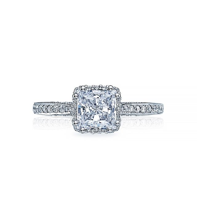 Tacori Dantela Engagement Ring, White Gold
