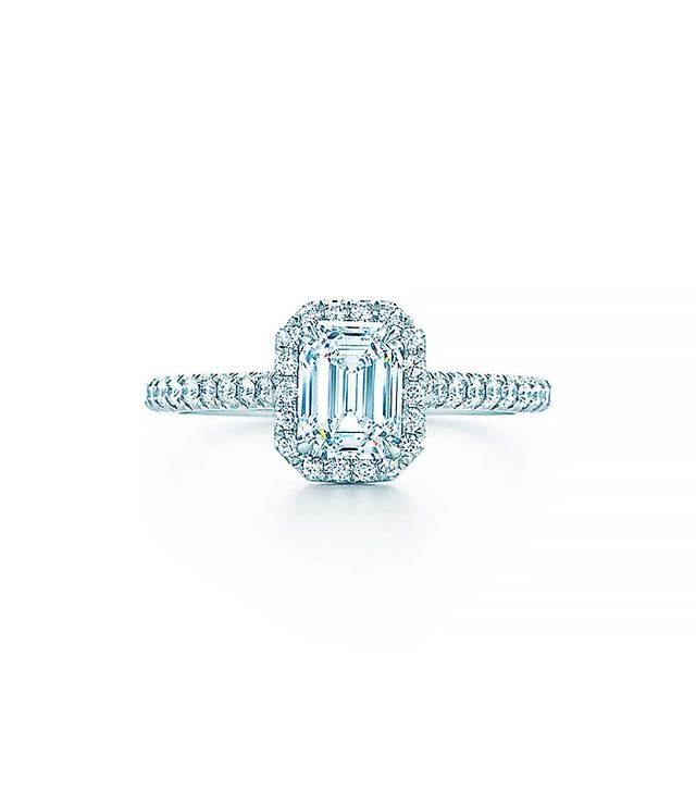 Tiffany & Co. Soleste Emerald Cut Engagement Ring
