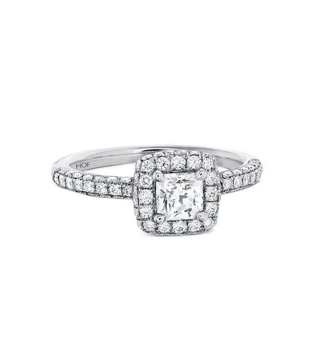 Hearts on Fire Euphoria Dream Engagement Ring, White Gold