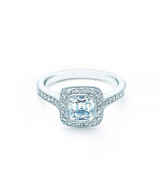 Tiffany & Co. Cushion-Cut Legacy Engagement Ring