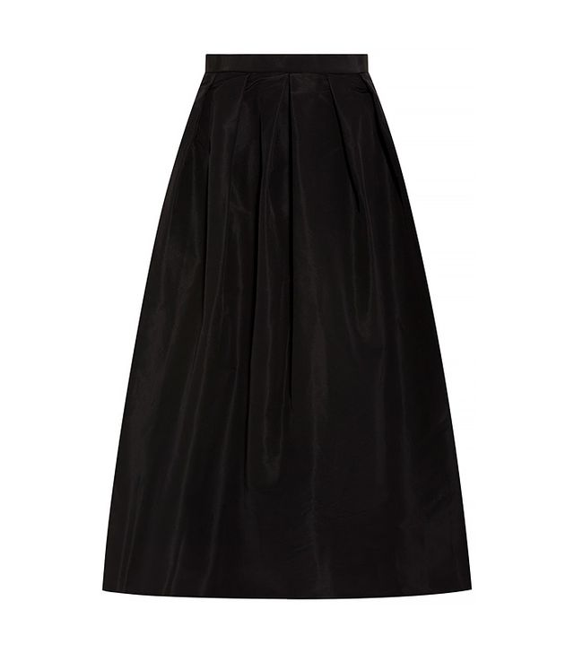 Tibi Faille Full Skirt