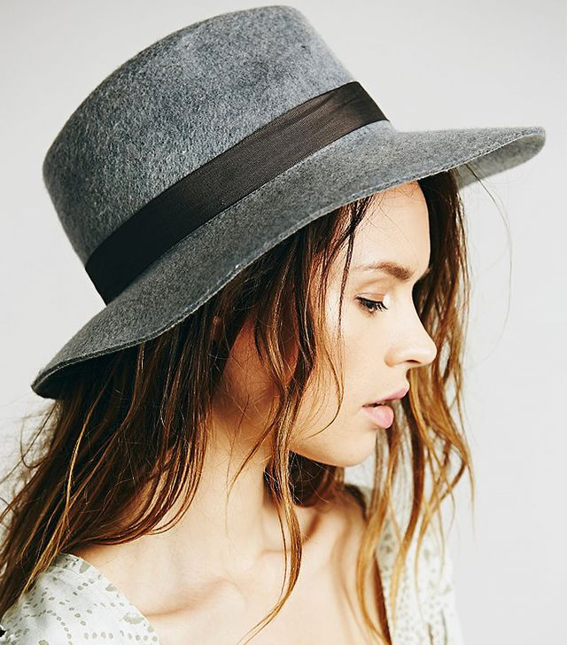 Free People Jane Floppy Hat, Heather Grey