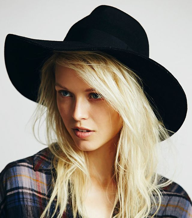 Free People Ella Hat, Black