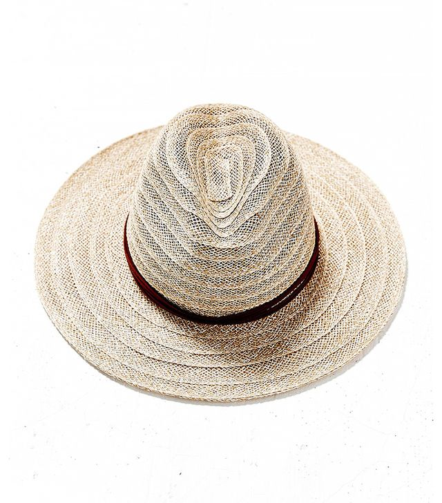 Goorin Bros. Open Weave Stitched Panama Hat, Nude