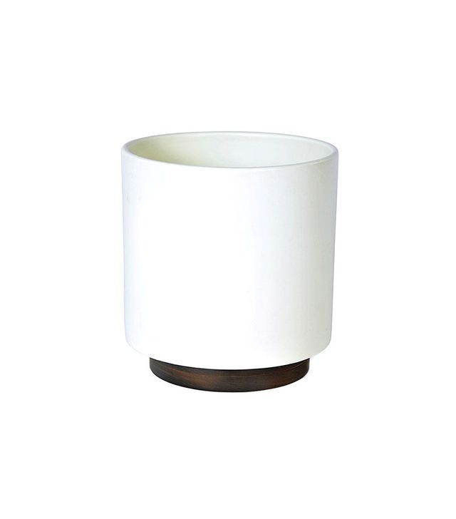 Modernica Case Study Ceramic Planter with Plinth