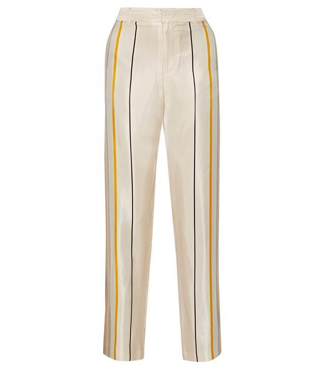 Rag & Bone Smith Striped Wide-Leg Pants