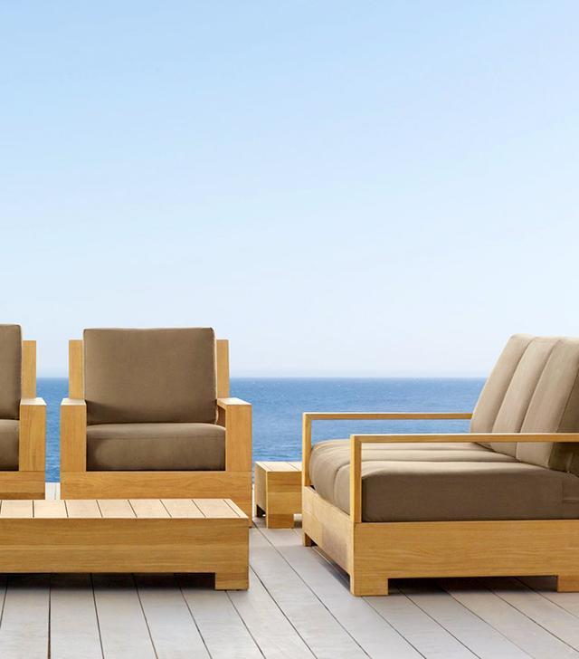 Restoration Hardware Belvedere Luxe Lounge Chair