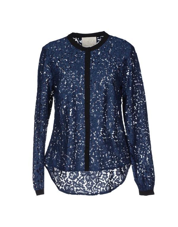 Rosemunde Copenhagen Lace Shirt
