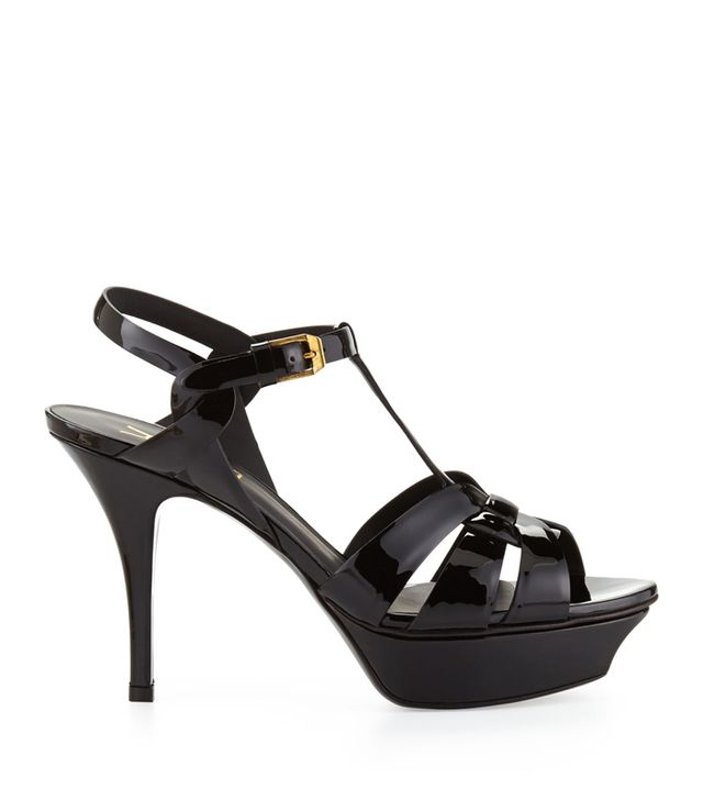 Saint Laurent Tribute Patent Sandal