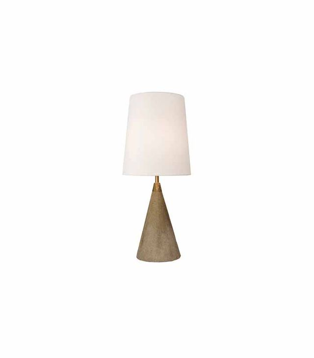 Rejuvenation Concrete Cone Accent Lamp