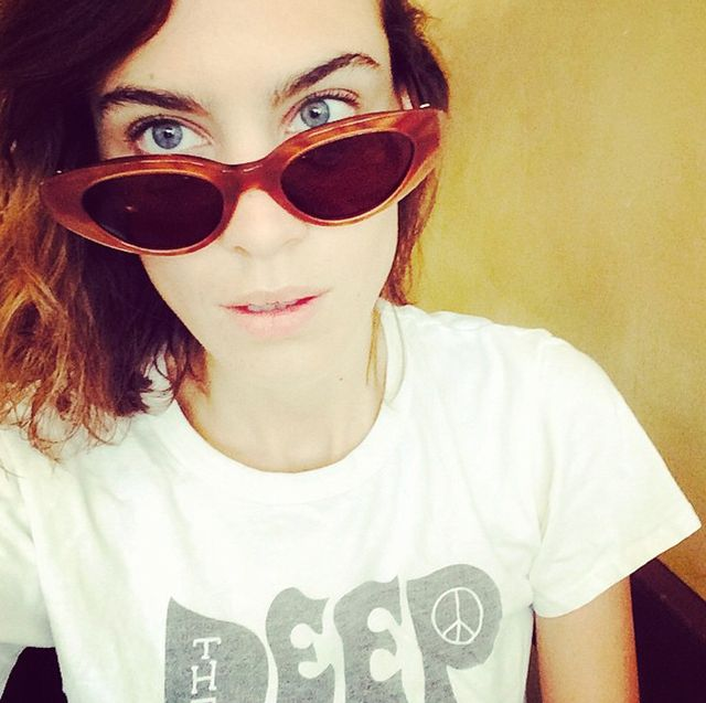 Alexa Chung's Spot-On Fashion Advice