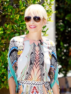 Nicole Richie Does Bohemian Summer Style Like a Pro