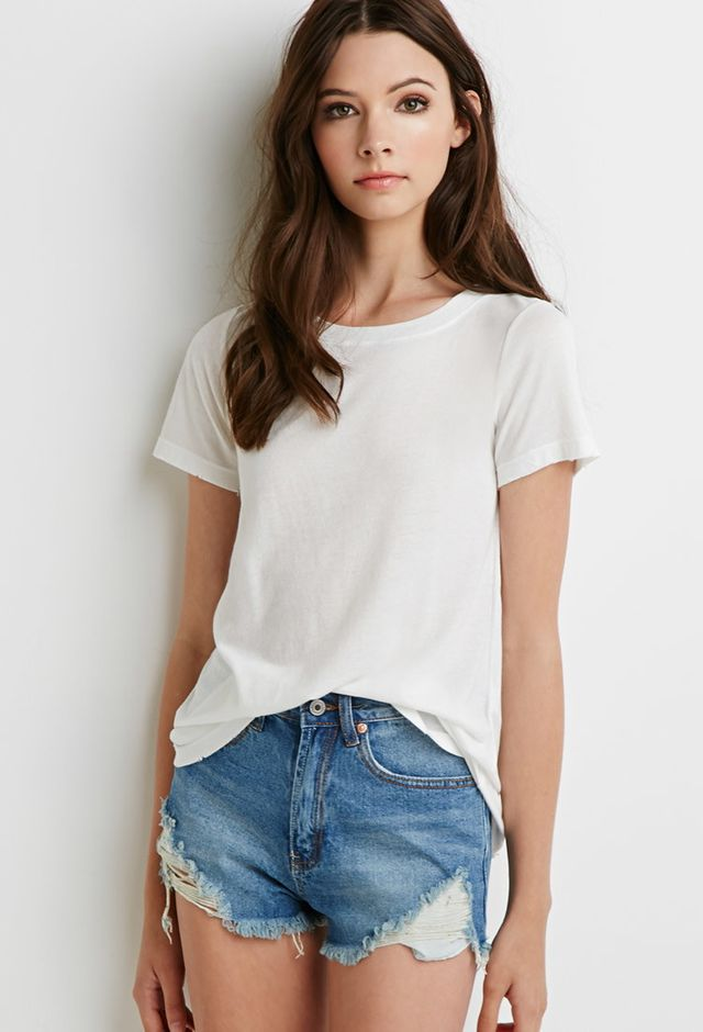 Forever 21 Heathered Tee