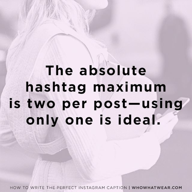 """It's true: All those people you follow who like to #hashtag #every #word #in #their #Instagram #posts—they're doing itwrong. """"Do not hashtag every word in your caption!"""" Kwolek..."""