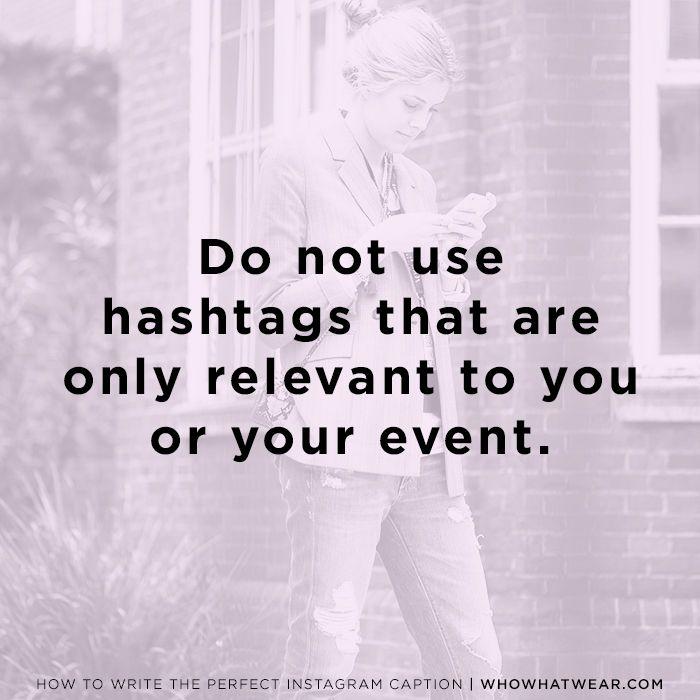 An Expert\'s Advice on Writing Cute Instagram Captions | Who What Wear