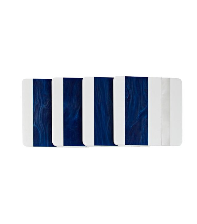 WLS Home NYC Set of Coasters & Holder