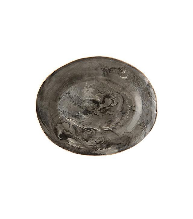 Terrafirma Ceramics Marble Glaze Serving Platter