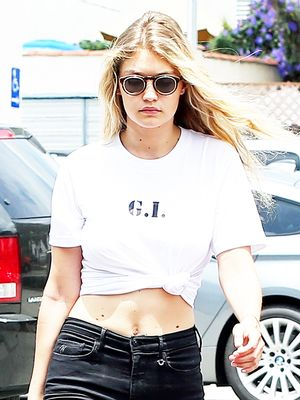 How California Girl Gigi Hadid Does City Slicker Style