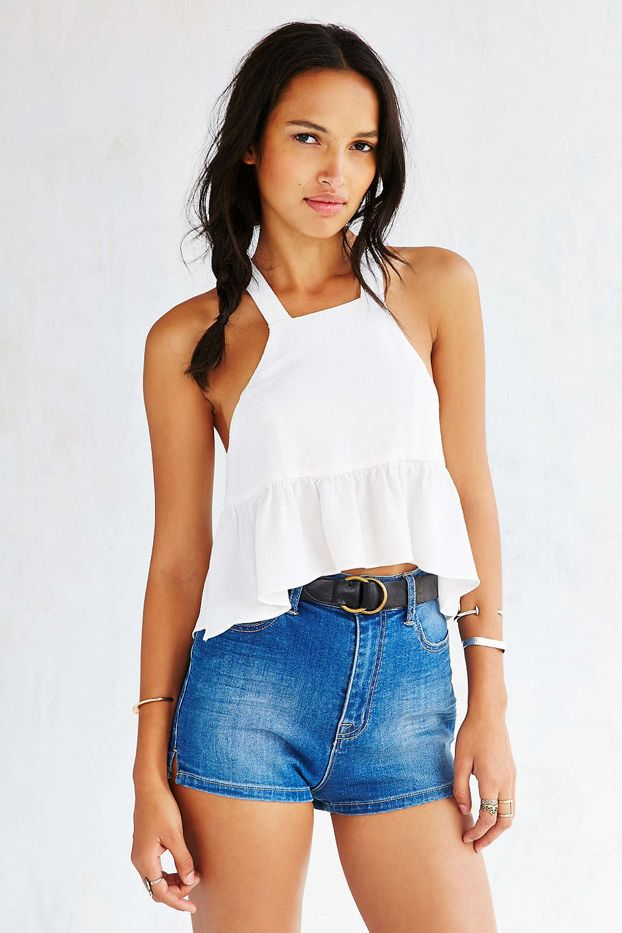 Stone Cold Fox Liam Cropped Top