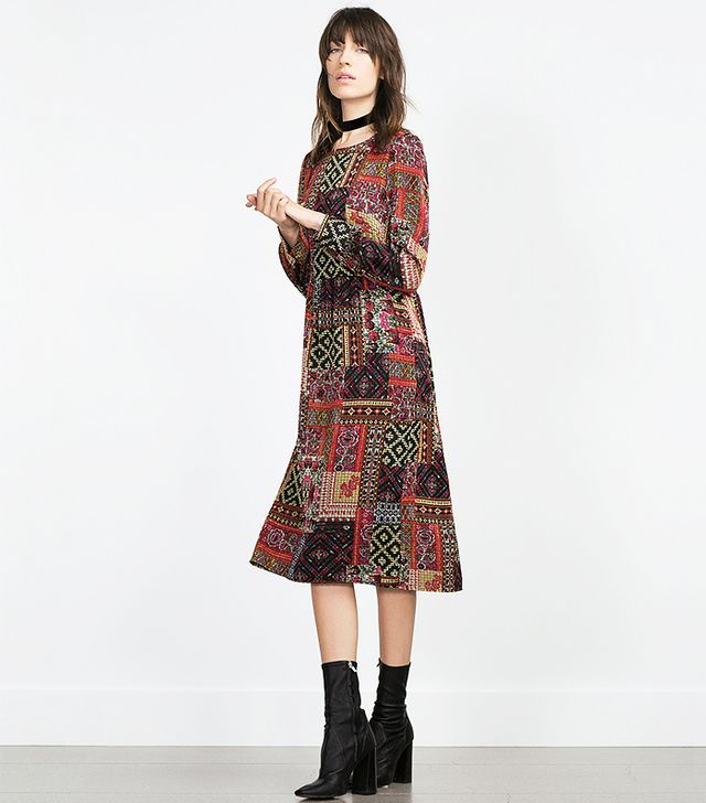 Zara Patchwork Dress