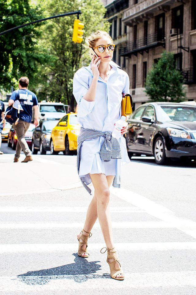 How To Get Olivia Palermo S Summer Style At Home Mydomaine