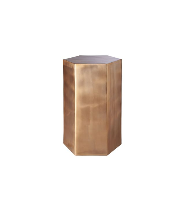 CB2 Hexagonal Side Table