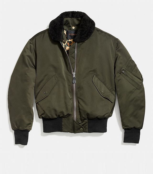 Coach MA-1 Jacket With Lining